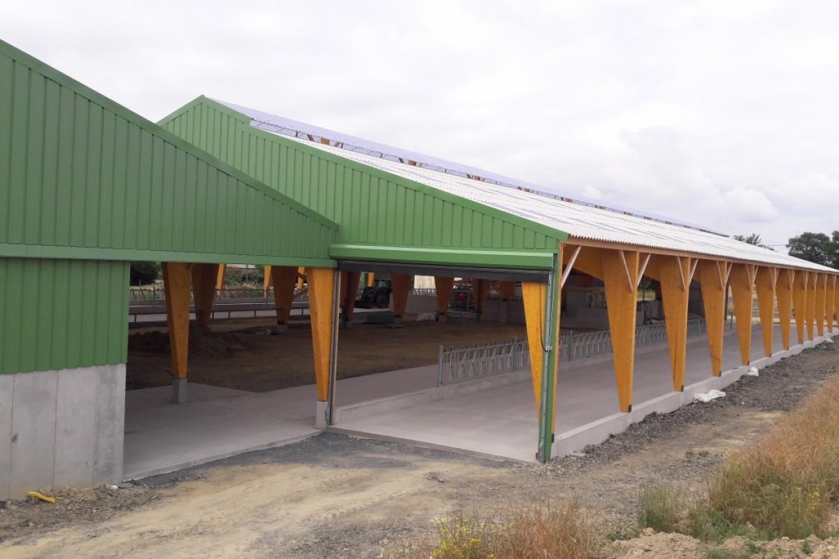 Construction de b timent agricole en ille et vilaine mayenne - Construction hangar agricole ...