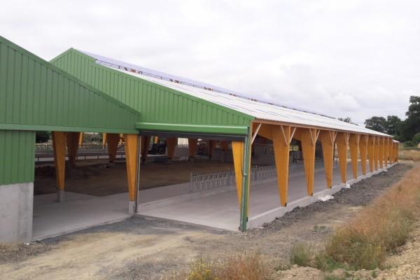 Constructions mal cot entreprise g n rale du b timent en ille et vilaine 35 - Construction hangar agricole ...
