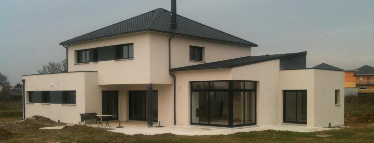 Construction de maison individuelle la guerche de bretagne janz vitr for Construction de maison individuelle henri renaud